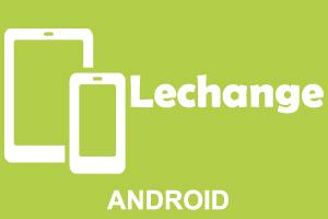 Lechange na urządzenia z systemem android.