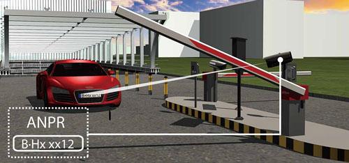ITC237-PW1B-IRZ - Możliwość automatycznego zarządzania szlabanem.