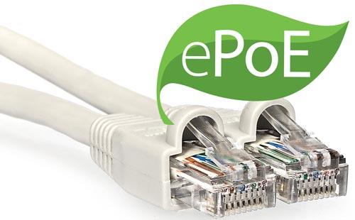DH-IPC-HDBW4831E-ASE-0400B - Zasilanie poprzez technologia ePoE.