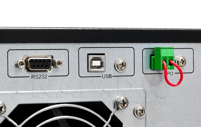 Interfejs komunikacyjny UPS10000LCD