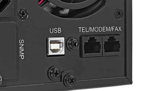 Interfejs USB w zasilaczu awaryjnym UPS1000S TLI
