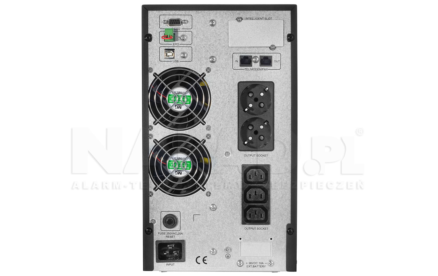 Zasilacz UPS 3000-T-ON 2S 3IEC