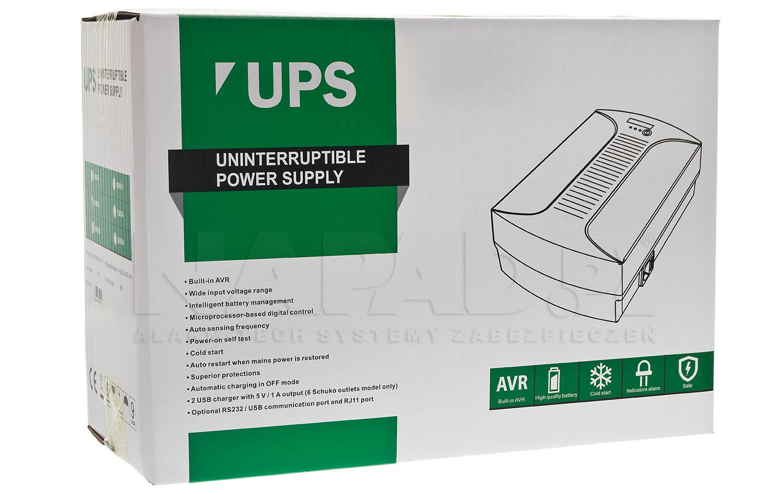 Opakowanie UPS 650 D Line interactive LED