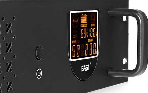 Zasilacz UPS 650-R-LI z ekranem LCD