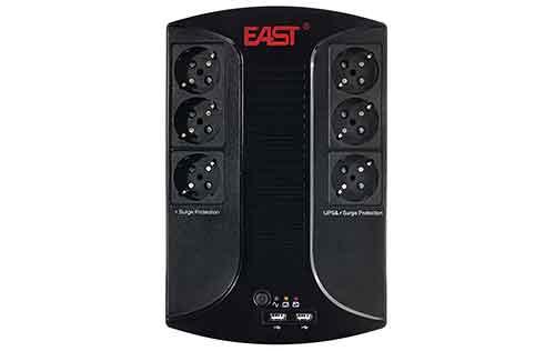 Profesjonalny zasilacz UPS EAST 850D Li LED