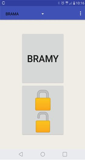 Interfejs aplikacji Elmes Control.
