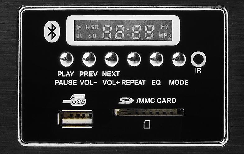 Wbudowany odtwarzacz MP3 z wyświetlaczem LED.
