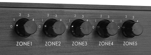 Regulacja głośności poszczególnych komponentów.