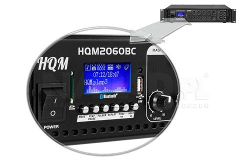 Wbudowany odtwarzacz MP3 z wyświetlaczem LCD.