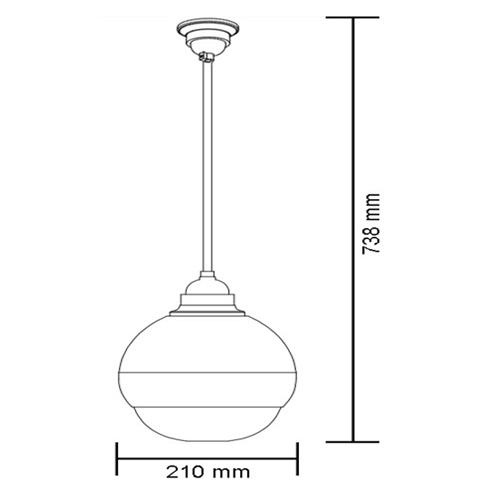 Wymiary głośnika sufitowego HQM-SK1515.