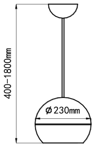 Wymiary głośnika HQM-SK30.