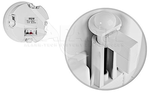 Uchwyty stabilizacyjne montaż w głośniku HQM-SOZ1625.