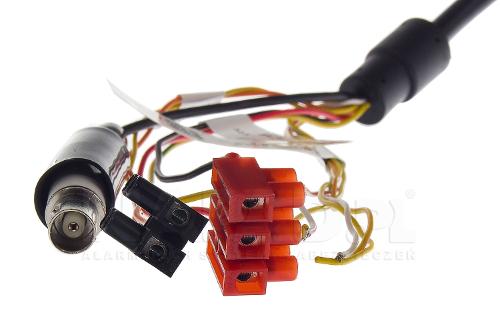 DS-2AE5225TI-A - Złącza kamery Hikvision Analog HD PTZ.