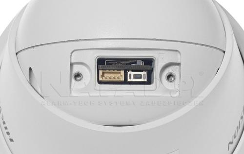 DS-2CD2343G0-I - Wbudowane gniazdo na kartę pamięci.