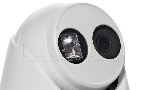 DS-2CD2343G0-I - Wbudowany nowoczesny oświetlacz IR LED EXIR.