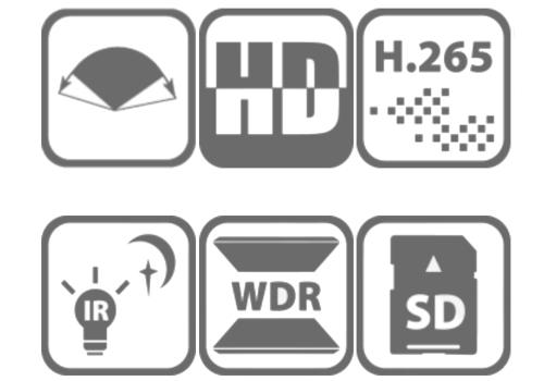 Kamera DS-2CD2345G0P-I - Specyfikacja