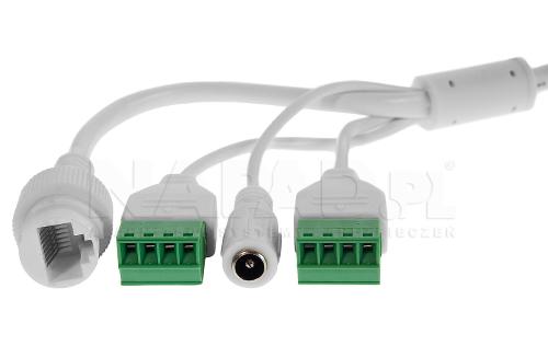 DS-2CD2646G1-IZS - Złącza kamery.