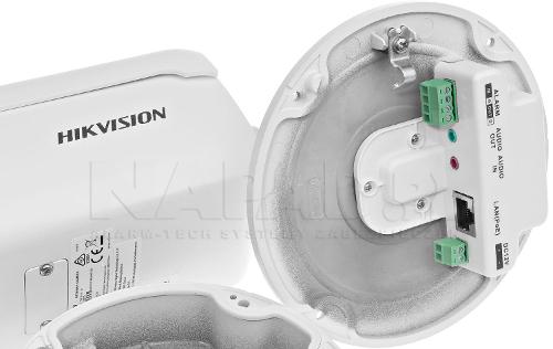 DS-2CD2686G2-IZS - Złącza kamery.