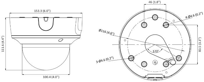 DS-2CD2786G2T-IZS - Wymiary