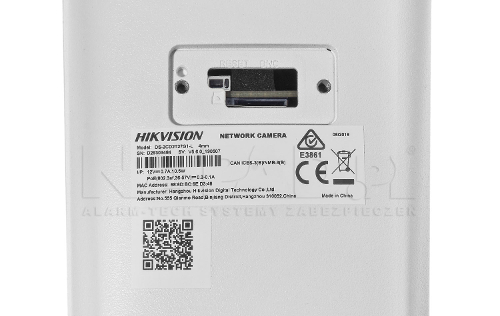 DS-2CD2T27G1-L - Obsługa kart microSD.