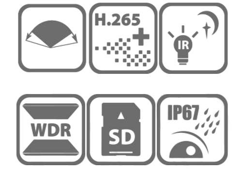Kamera DS-2CD2T45G0P-I - Specyfikacja