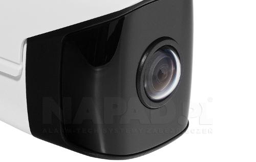 Panoramiczna kamera z kątem widzenia 180°.