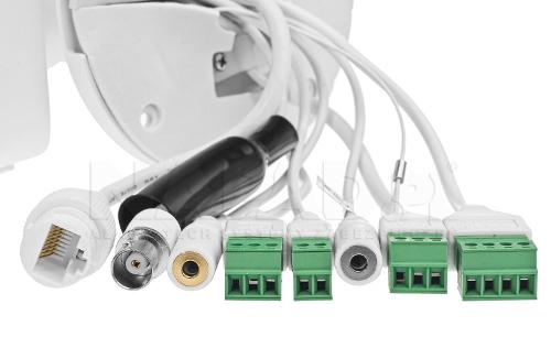 DS-2CD4A26FWD-IZSWG/P - Złącza kamery.