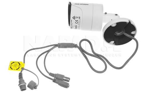 Wysoka jakość wykonania kamery Hikvision.
