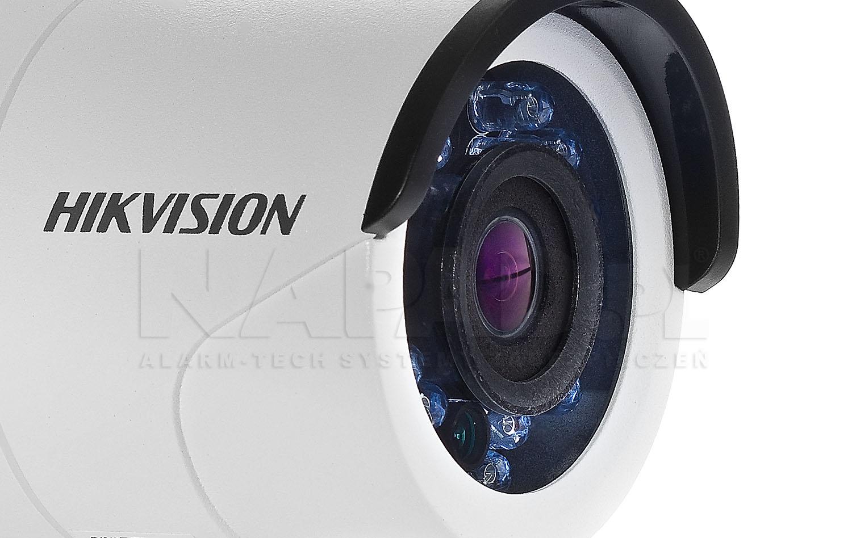 DS-2CE16D0T-IRF - Wydajny oświetlacz wbudowany w kamerze.