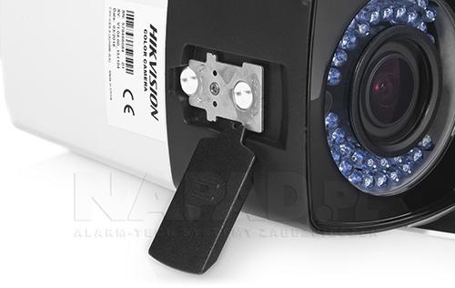 DS-2CE16D0T-VFIR3F - Regulowany obiektyw w kamerze.
