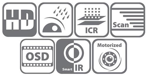 DS-2CE16D8T-IT3Z / DS-2CE16D8T-AIT3Z - Główne cechy kamery Hikvision.