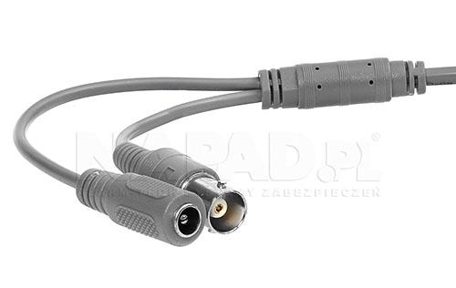 DS-2CE16F1T-IT3 - Przewody podłączeniowe w kamerze.
