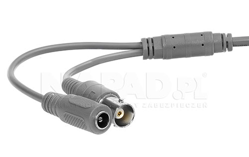 DS-2CE56D8T-VPIT(E) - Złącza kamery.