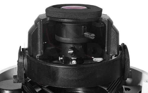 DS-2CE5AD0T-VPIT3F - Regulowany obiektyw w kamerze.