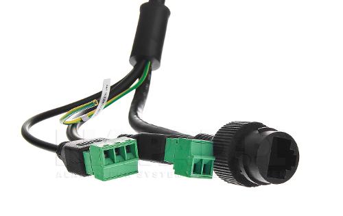 DS-2DE4425IW-DE - Przewody kamery.