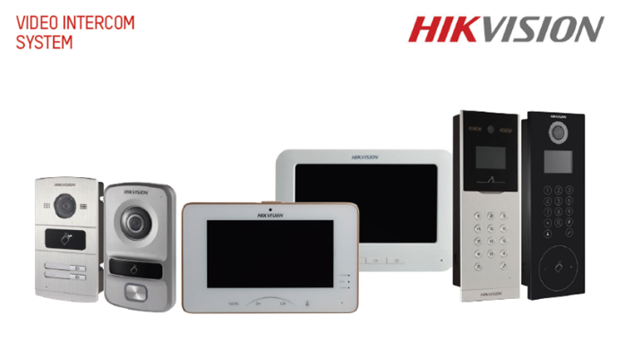 Hikvision Intercom System.
