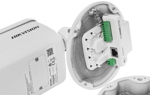 DS-2CD7A26G0/P-IZHSWG - Złącza podłączeniowe kamery.