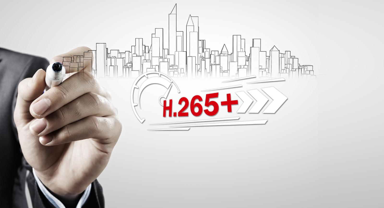 Doskonała kompresja H.265 Pro+.