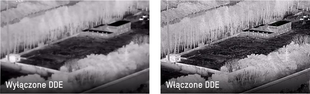System DDE w kamerach termowizyjnych.