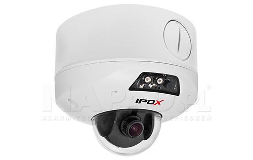 JB-300 - Przykładowe zestawienie uchwytu i kamery IPOX.