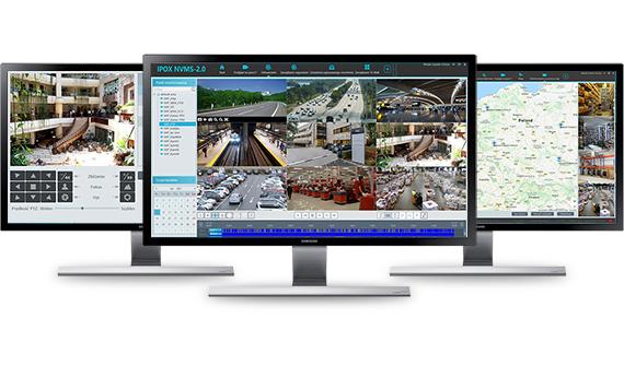 Przejrzysty interfejs oprogramowania NVMS