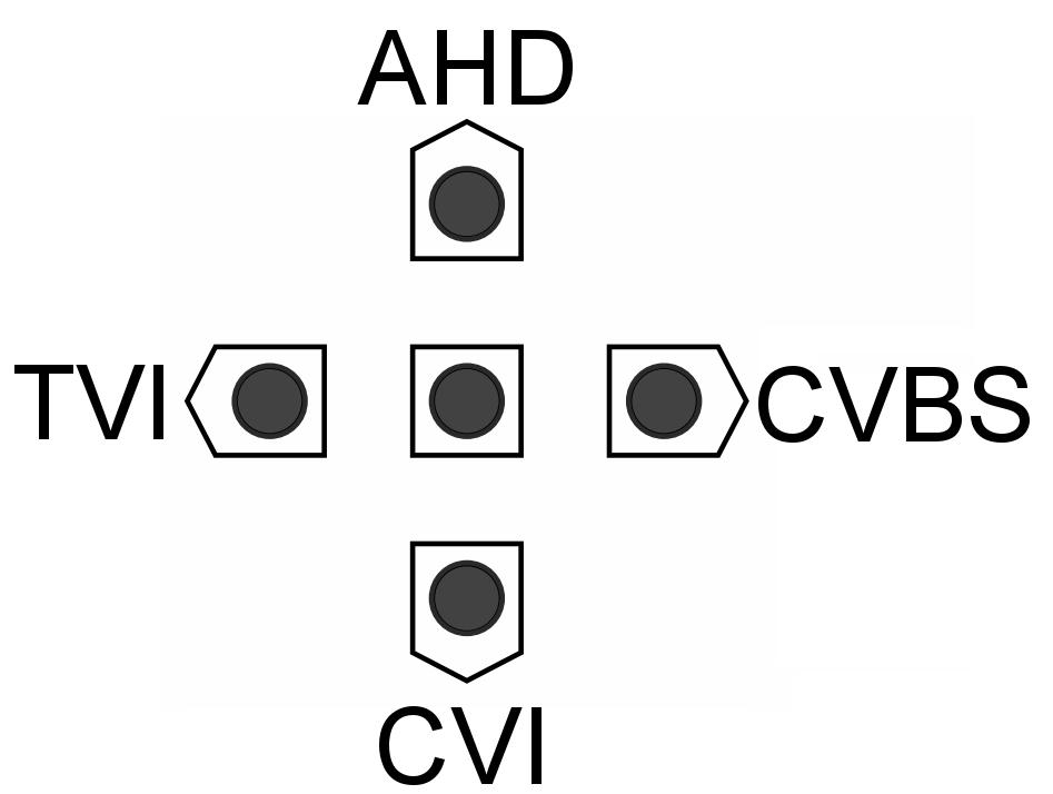 Zmiana trybu pracy kamery Analog HD.