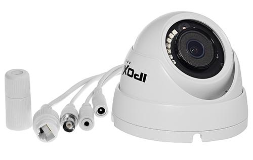 Kamera z certyfikatem wodoszczelności IP66.