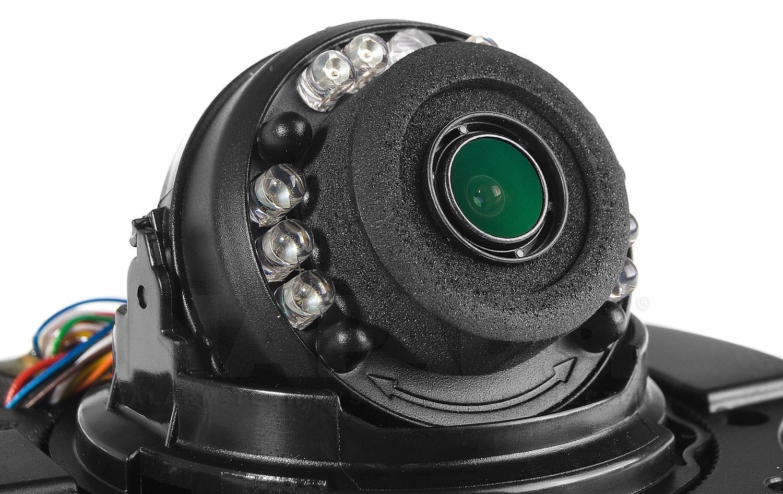 Sieciowa kamera mobilna z obiektywem 2.8 mm.