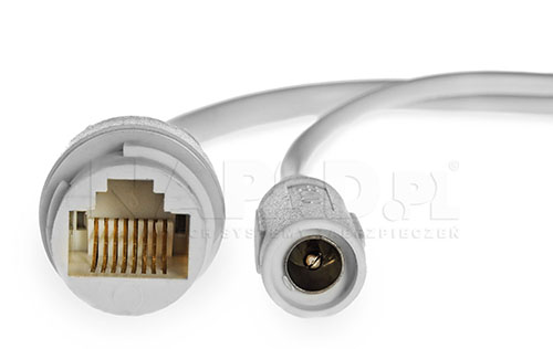PX-DVI2002SL-P - Przewody połączeniowe w kamerze megapikselowej.