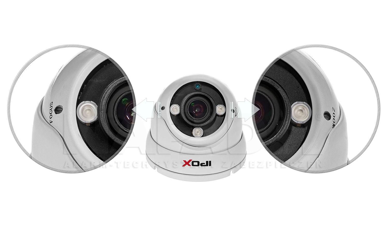 PX-DVI2003A-E - Prosta regulacja ogniskowej obiektywu.