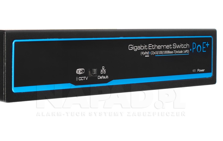 PX-SW4G-TPD60-U1G - Panel przedni switcha.