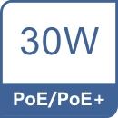 PoE/PoE+.
