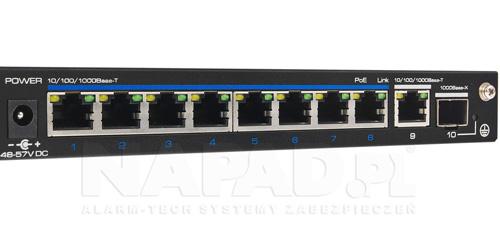 Gigabitowy switch 8-portowy PX-SW8G-SP120-U2G.