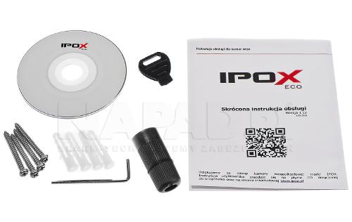 PX-TVIP2004-E - Akcesoria dostępne razem z kamerą.